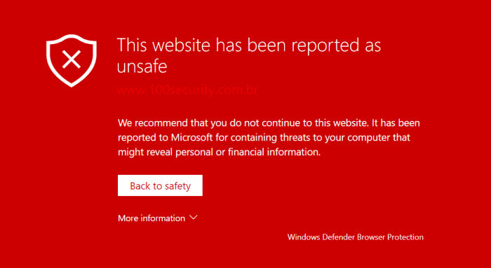 Microsoft crea una extensión para bloquear sitios web maliciosos en Chrome