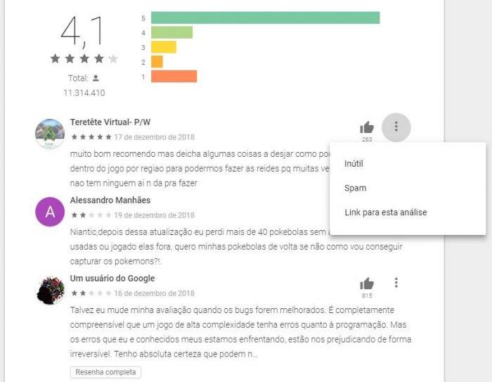 Google's IA elimina millones de comentarios y valoraciones falsas de Play Store 2