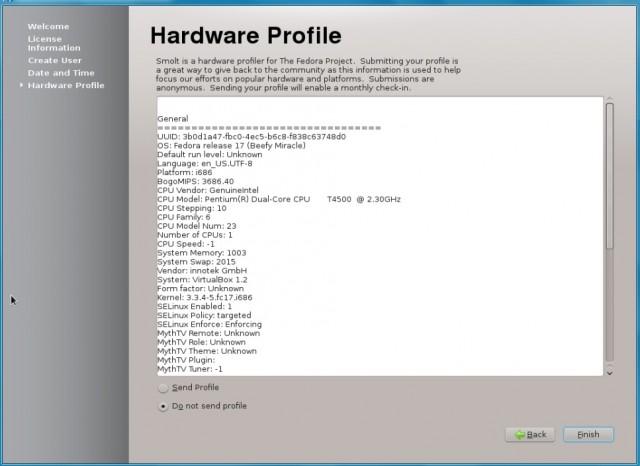 Fedora 17 KDE, instalación en un disco duro vacío 15