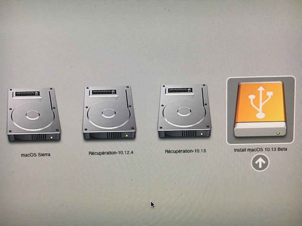 Descenso de macOS High Sierra (10.13) a macOS Sierra (10.12) 4
