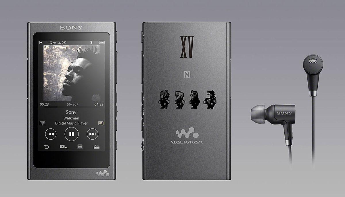 Final Fantasy XV: Sony lanza un walkman de colección con los colores del juego! 1