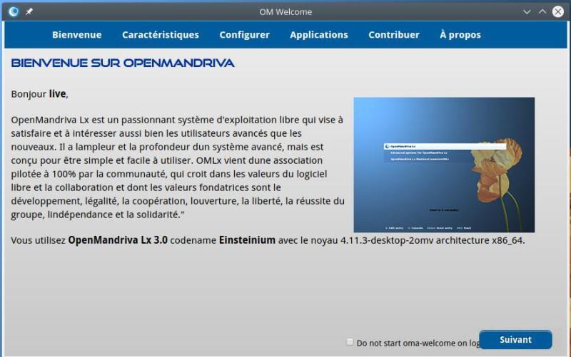 Prueba de OpenMandriva Lx 3.02 con el entorno de escritorio Plasma 5.9.5 2