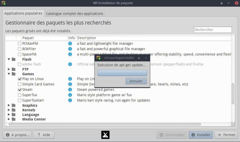 Escritorio Linux MX-16.1 XFCE para probar con placer 12