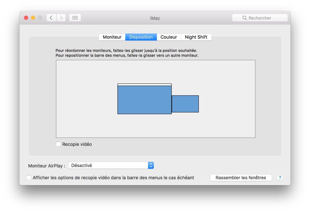 Utiliza un iMac en la segunda pantalla (modo de visualización de destino) 4