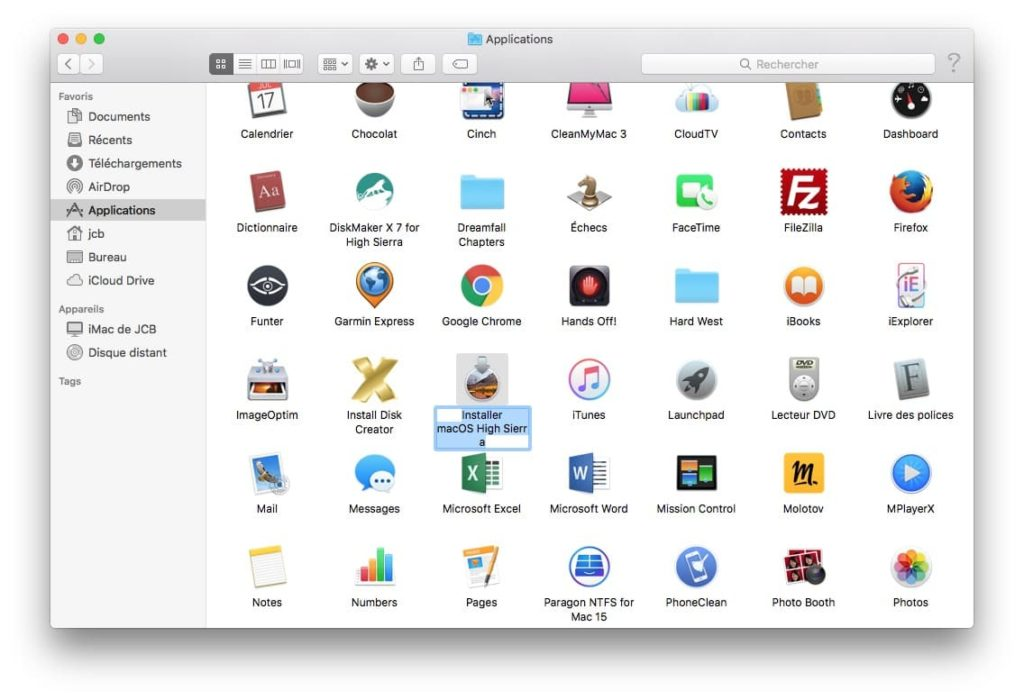 Lápiz USB de arranque MacOS High Sierra (10.13) : manual de usuario! 3