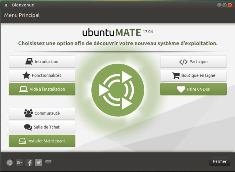 Ubuntu Mate - Versión 17.04 - Descargar - Probar - Instalar 3