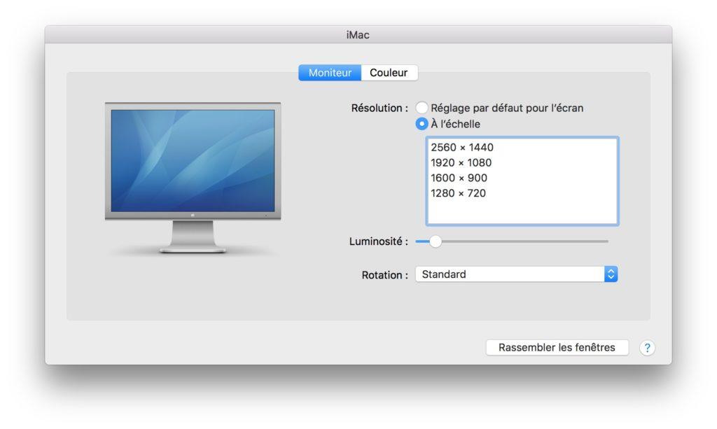 Utiliza un iMac en la segunda pantalla (modo de visualización de destino) 5