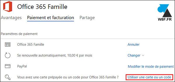 Office 365: renovar o activar la suscripción 3