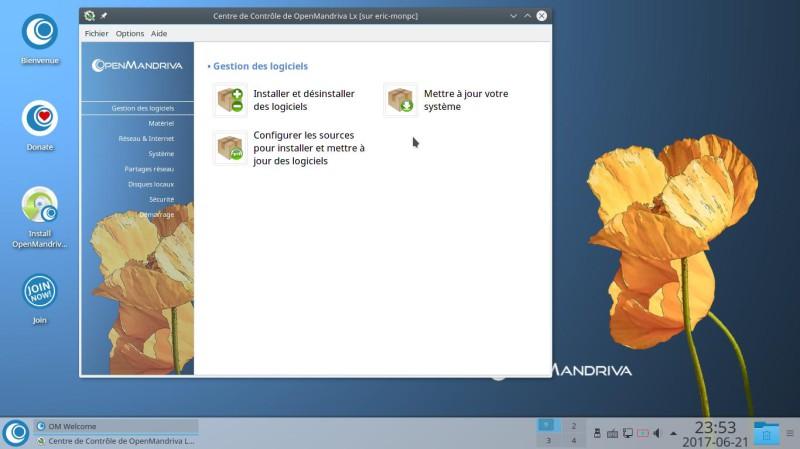 Prueba de OpenMandriva Lx 3.02 con el entorno de escritorio Plasma 5.9.5 6