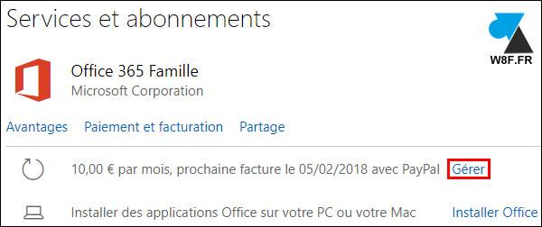 Office 365: renovar o activar la suscripción 2