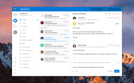 Outlook para Windows y Mac adquirirá un nuevo aspecto