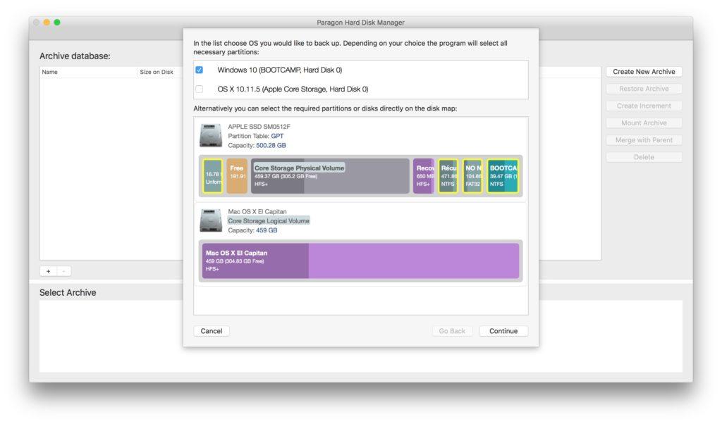 Administración de particiones en Mac con Paragon Hard Disk Manager (HFS+, NTFS, FAT16/32, EXT2/3/4) 7