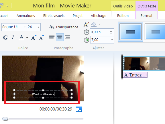 Edición de vídeo con Windows Movie Maker 7
