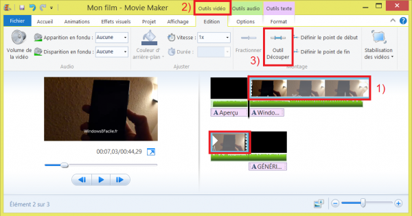 Edición de vídeo con Windows Movie Maker 15