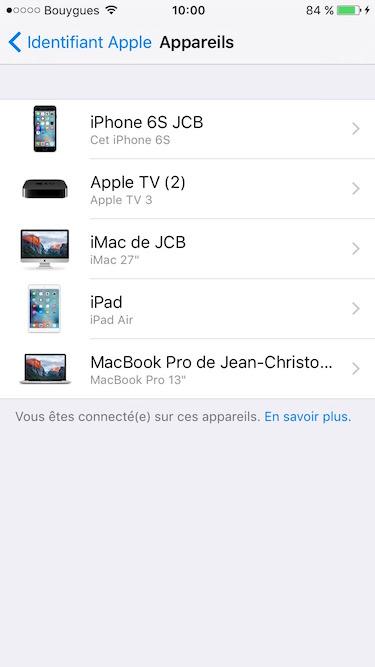 Eliminar un dispositivo de la cuenta de iCloud (iPhone, iPad, Mac, Apple TV, Apple Watch) 7