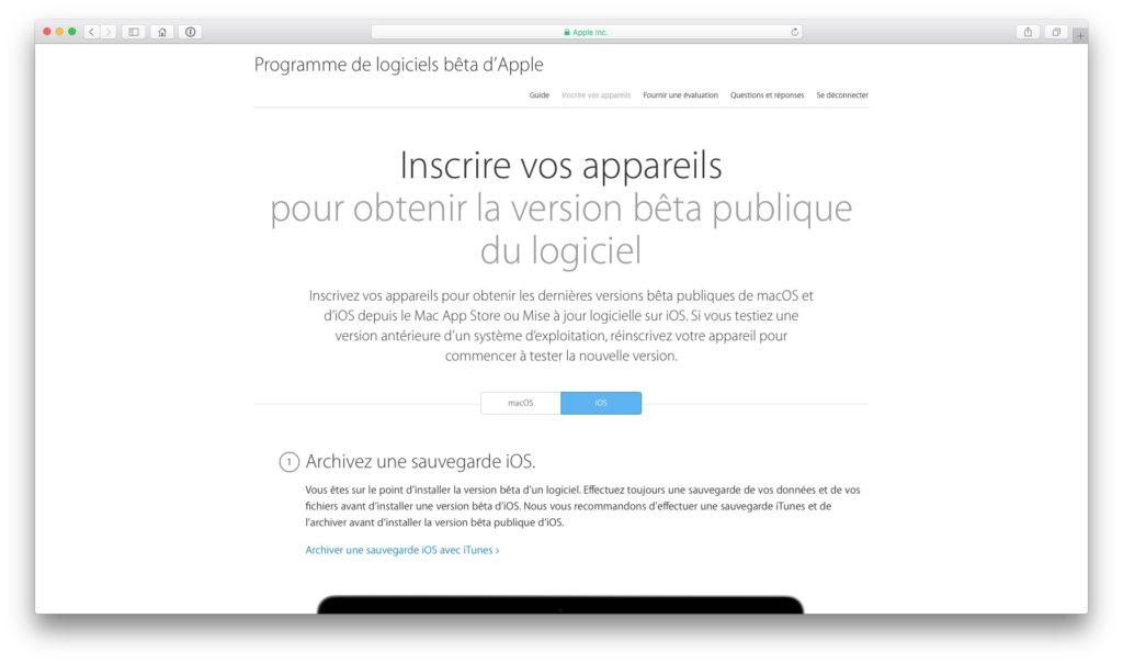 Instalar iOS 10 beta public 2