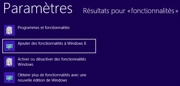 Instalar el cliente Telnet en Windows 8 y 8.1 3