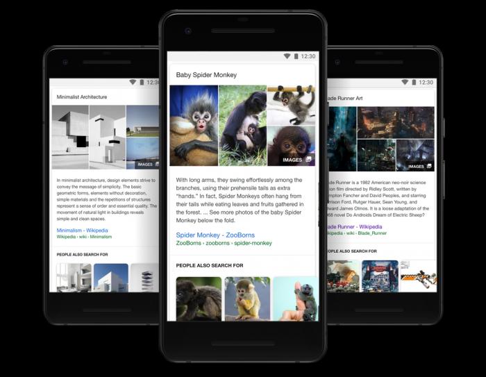 Google actualiza la búsqueda para que usted pueda pasar más tiempo en ella