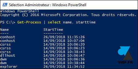 Mostrar el tiempo de actividad de un servicio de Windows 2