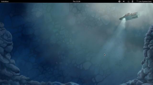 Algunas capturas de pantalla de FEDORA 16 1