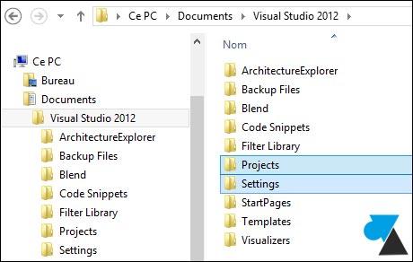 Copia de seguridad de un entorno de desarrollo de Visual Studio 2