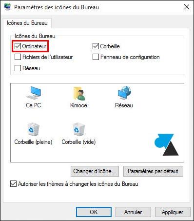 Windows 10: mostrar el icono del ordenador / Este PC en el escritorio 6