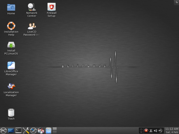 Prueba de escritorio PCLinuxOS KDE 2012 1