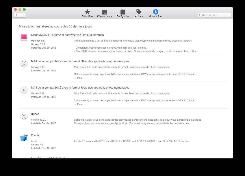 Mac App Store: configuración bajo OS X El Capitan (10.11) 4