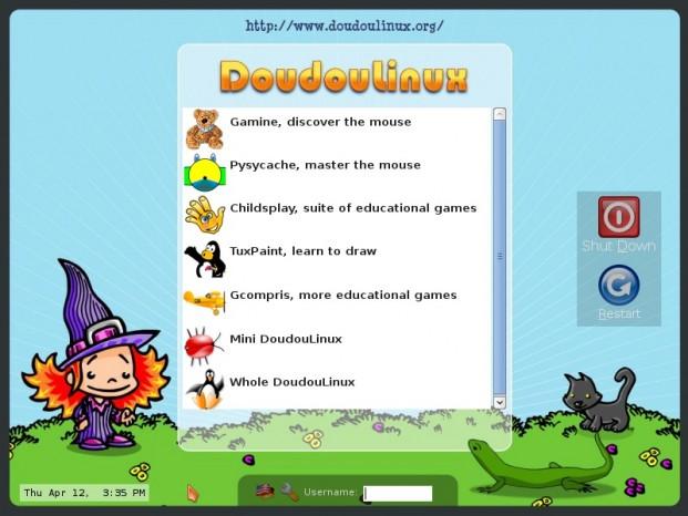Una distribución de Linux para niños 1