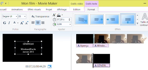 Edición de vídeo con Windows Movie Maker 11