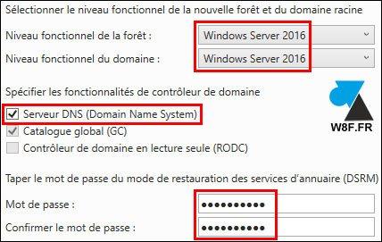 Windows Server 2016: crear un dominio de Active Directory 11