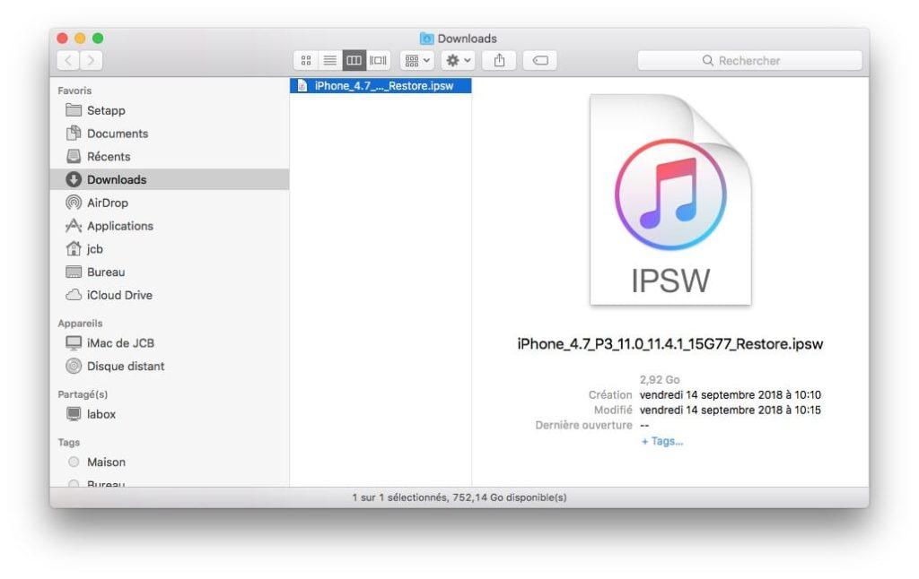 Degradación de iOS 12 a iOS 11: instrucciones de uso 2