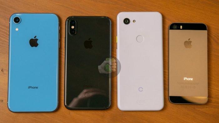 Pixel 3 Lite puede ser similar en tamaño al iPhone XR 2