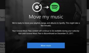 Microsoft cierra el Streaming de Música Groove y Migra a los Usuarios a Spotify