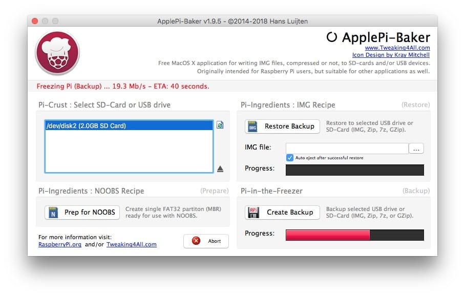 Clonar una tarjeta SD en Mac (copia de imagen perfecta) 5