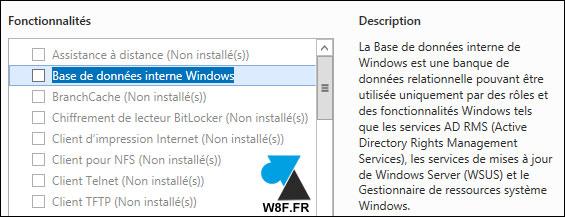 Desinstalación de un servidor WSUS 4