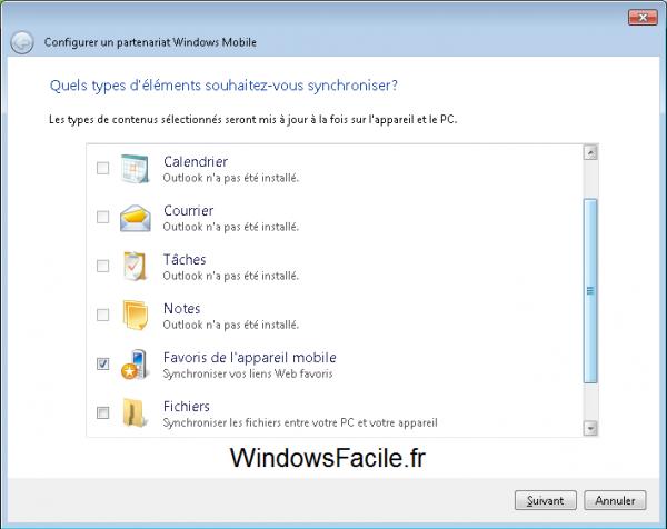 ActiveSync y Windows Mobile en Windows 8 5
