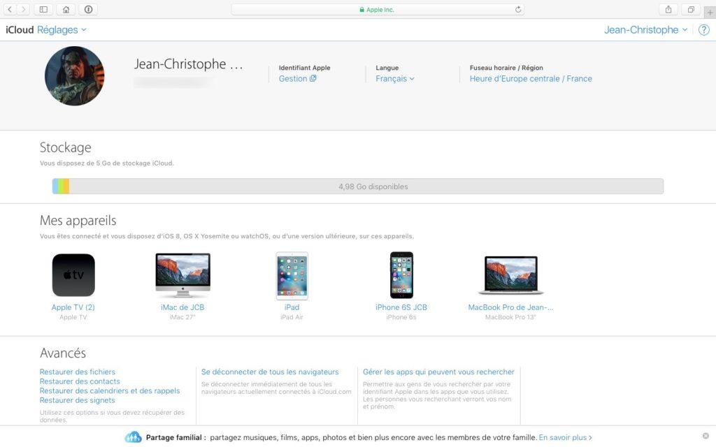 Eliminar un dispositivo de la cuenta de iCloud (iPhone, iPad, Mac, Apple TV, Apple Watch) 10