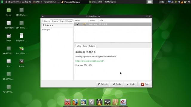 Manjaro 0.8.5 XFCE 7