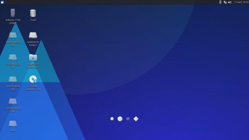 Xubuntu 17.04 para probar en una llave USB o DVD 3