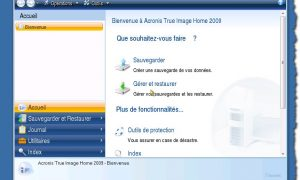 Agregue Acronis True Image al menú de inicio de Windows.
