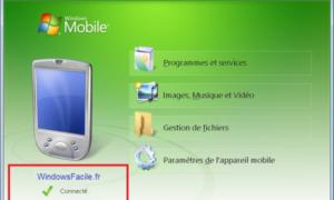 ActiveSync y Windows Mobile en Windows 8