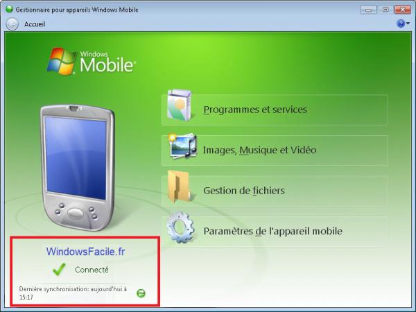 Active Sync y PDA Windows Mobile en Windows 10