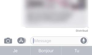 Activar el teclado con una mano en el iPhone (iOS 11)