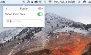 Mostrar archivos ocultos macOS High Sierra (10.13)