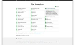 Estado del sistema Apple: consulta los servicios de App Store, iTunes, iCloud, Siri, Photos, iMessage....