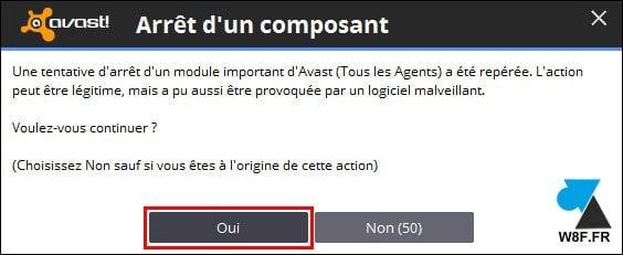 Avast: Desactivar temporalmente el antivirus
