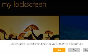 Windows 8: cambiar la imagen de arranque