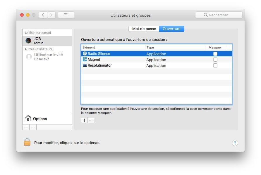 Bloquear las conexiones salientes en Mac