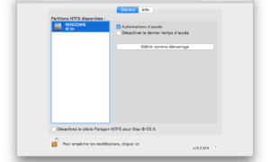 NTFS Mac OS X: escribir en una partición de Windows Boot Camp